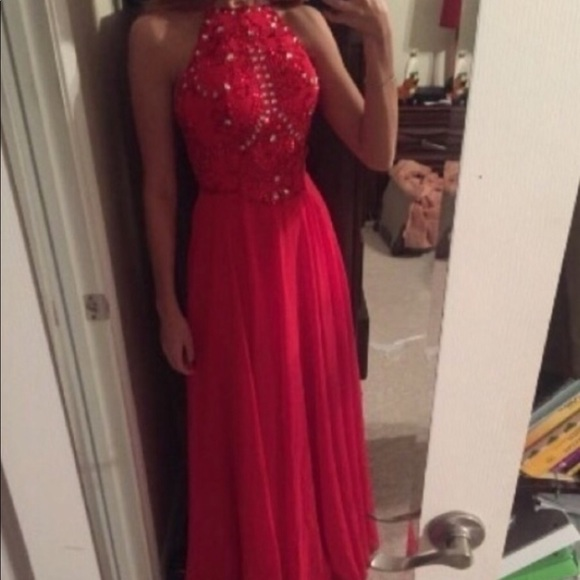 Halter Prom Dress Jovani